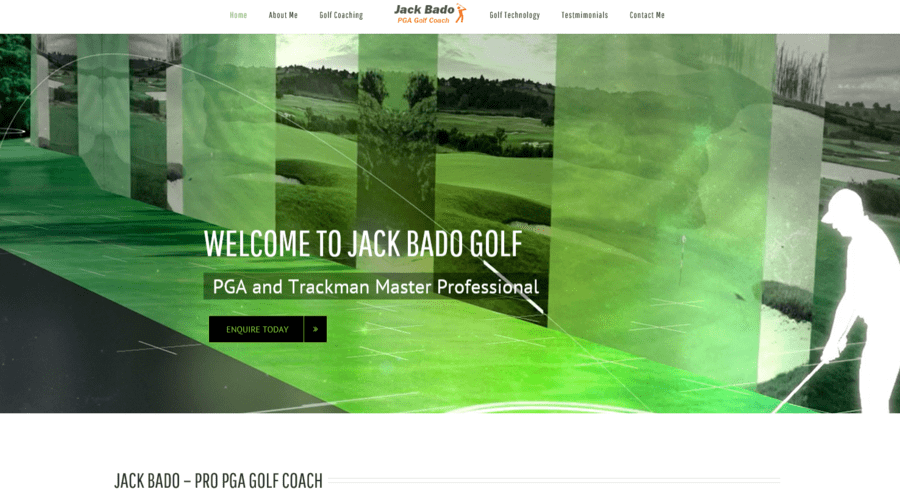 JACK BADO - PGA GOLF COACH