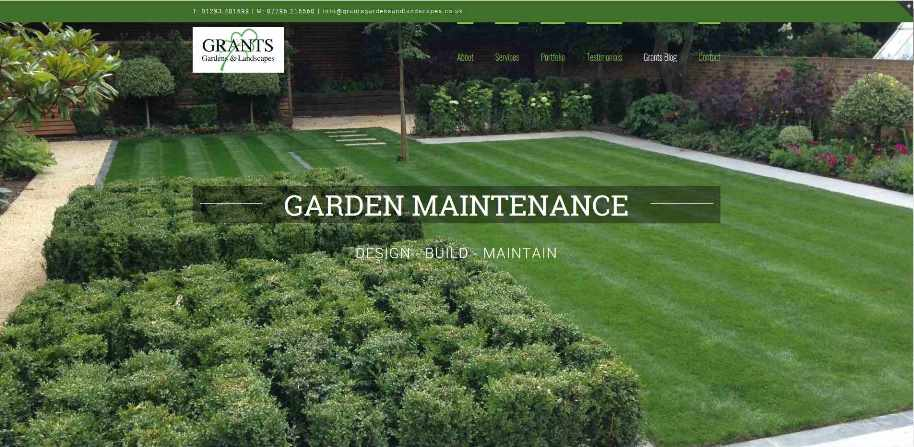 GRANTS Gardens and Landscapes