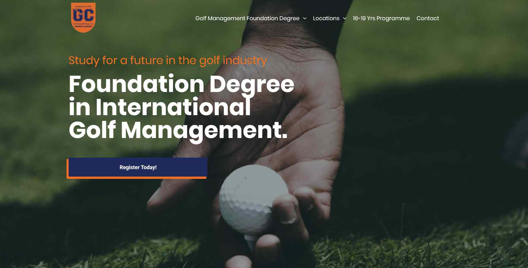 The Golf College Degree