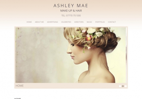 Ashley Mae – Makeup Artist